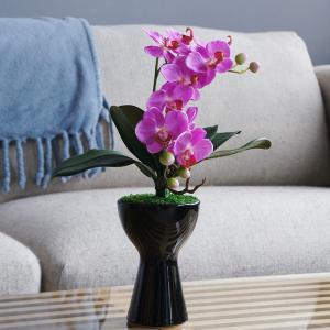 贈り物にぴったりサイズのアートフラワー胡蝶蘭(造花)