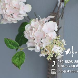 都内寿司店を飾る和風壁掛けアレンジメント(造花/アートフラワー)