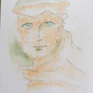 サイキックアート、松の妖精