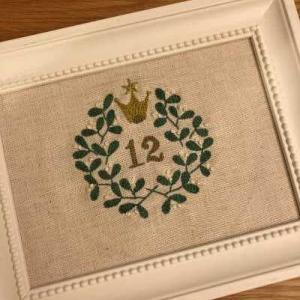 12月の刺繍と大感謝祭で買ったもの。