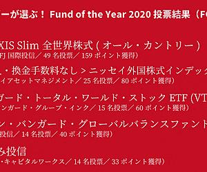 投信ブロガーが選ぶ! Fund of the Year 2020 発表! #foy2020