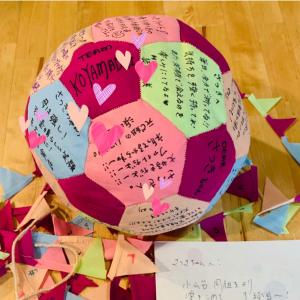 ⭐️愛のボールが日本から送られてきた!⭐️