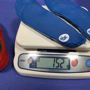 噂のインソール【Reve】重量測定!と噂のシューズ(30%オフ)と光の加護