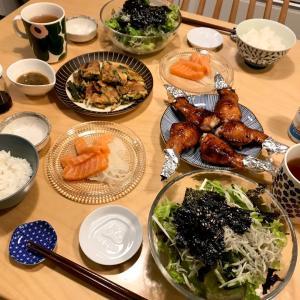 最近の我が家の食卓☆