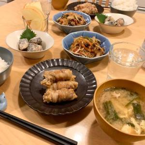 寄せ集め晩ご飯☆