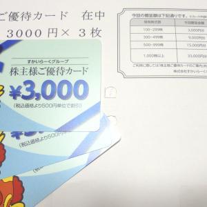 【貸株・優待】8月の貸株金利&すかいらーく優待到着