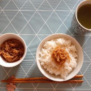 【ひとり朝ごはん】粗食だけど、ぜいたくな和食の朝ごはん*Day 15