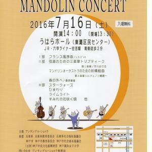 コンサートのチラシができました。