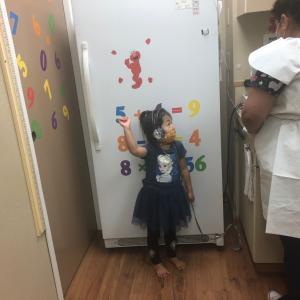 4歳検診と娘の肌荒れについて