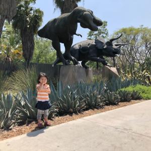 娘と2人で恐竜博物館へ!