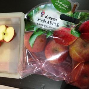 韓国産りんご