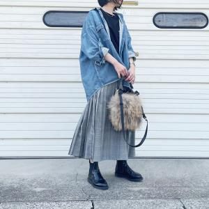 【UNIQLO】週一ペースでヘビロテのコラボスカート