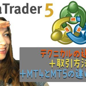 MT5初心者向けにテクニカル追加+注文方法を説明!