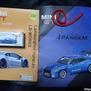 東京オートサロン2020でMINI-GTの新製品! LB-Silhouette WORKS GTが展示