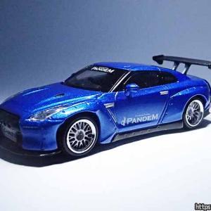MINI GTのパンデム日産GT-RをTASでフラゲ【1/64 Pandem Nissan GT-R R35】