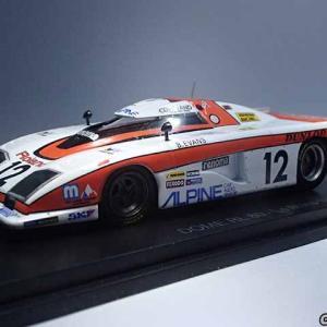 アシェエットのル・マン24時間レースカーコレの童夢DOME RL-80はスパーク製1/43ミニカー