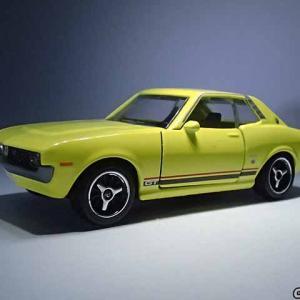 日本車セレクションのトヨタ・セリカGTクーペはマジョレットの新金型の新車