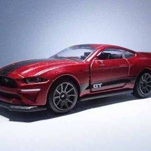 マジョレット・プライムモデルDXエディションの5台最後のフォード・マスタング