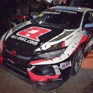 シビックTCRの2019年FIAワールド・ツーリングカー・カップ(WTCR)参戦車両【ALL-INKL.COM Münnich Motorsport】