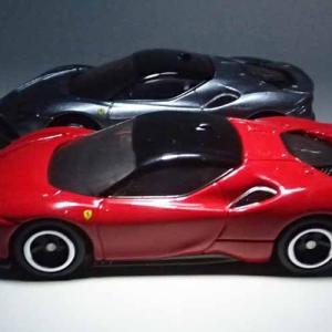 ならばトミカのフェラーリSF90ストラダーレの通常仕様のロッソはどうだろう?