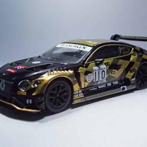 1/64 MINI GTのスパ24時間耐久レース出場車、ベントレーコンチネンタル GT3#110 2019 Total 24 Hours of Spa