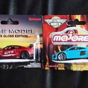 トイザらスでマジョレット・プライムモデル・マットグロス・エディションの日産GT-R GT3をゲット。