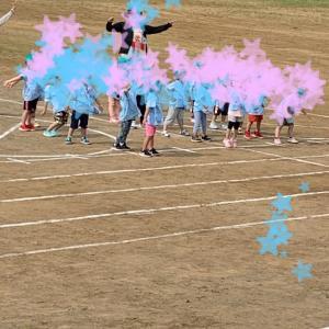 【幼稚園の事】ぴーちゃんの年少運動会