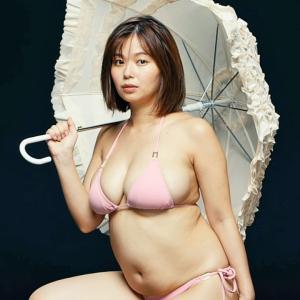 【和地つかさ】Iカップ26 ライザップ|RIZAP新TVCM出演!水着姿を披露!驚愕のウエストマイナス??.?cm!
