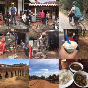 2/11 シェムリアップを出発 Leaving Siem Reap (SE Asia Cycling 2020, Day 1, Feb 11)