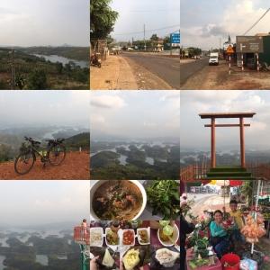 3/8 絶景ポイントを発見 Tà Đùng, Đắk Som(SE Asia Cycling 2020 Day 27, Mar. 8)