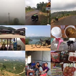 3/9 Đắk Som to Tân Thượng(SE Asia Cycling 2020 Day 28, Mar. 9)