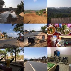 3/11 これぞ中部高原な道を走る Tân Thượng to Phú Hội(SE Asia Cycling 2020 Day 30, Mar. 11)