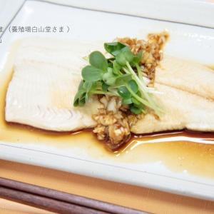 【レシピ】蒸しイワナの薬味醤油がけ(渓流食堂さま)