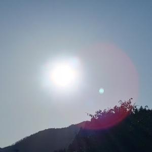 大寒の日、太陽からのメッセージ
