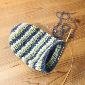 編み物ボランティアは延期になったそうです。