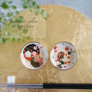 【My work】和柄の豆皿♪