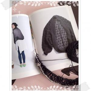 編み始め:ダイヤ模様のマーガレット〜風工房のシンプル夏ニット、こものより〜