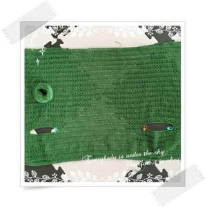 編み中:ポケットつきスクエアプルオーバー〜シンプルなのに仕掛けが光るニットのふだん着より〜part3