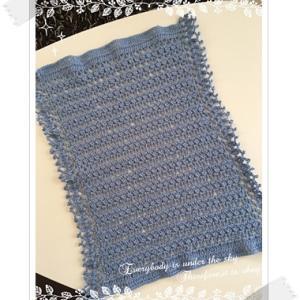 編み中:貝殻のカバー〜おしゃれなかぎ針編み 2WAYティッシュBOXカバー〜9日目〜
