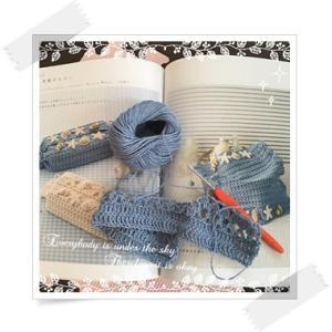 編み初め:貝殻のカバー〜おしゃれなかぎ針編み 2WAYティッシュBOXカバー〜