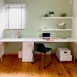 オンラインインテリア相談で完成したホームオフィス空間♡