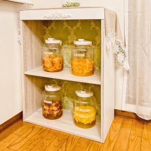 サロンのイメージに合う収納棚のプチリフォーム