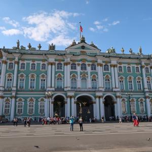 ロシアのサンクトペテルブルクにある「エルミタージュ美術館(Hermitage Museum)」