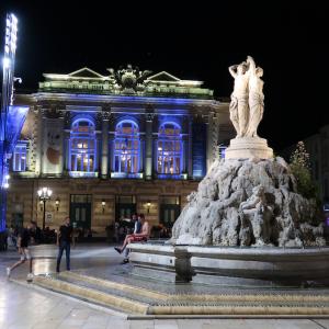 美しい街並みが広がるフランス南部の都市「モンペリエ(Montpellier)」