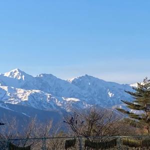 景色は冬♪