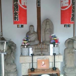 圓照寺の境内