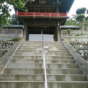 静かな高正寺の境内
