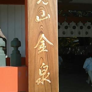 この時が七回目の金泉寺(四国霊場第三番札所)参詣