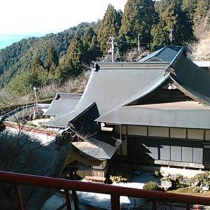 神峯神社から神峯寺へ降り、納経