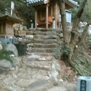 大日寺奥の院「爪彫薬師」に到着